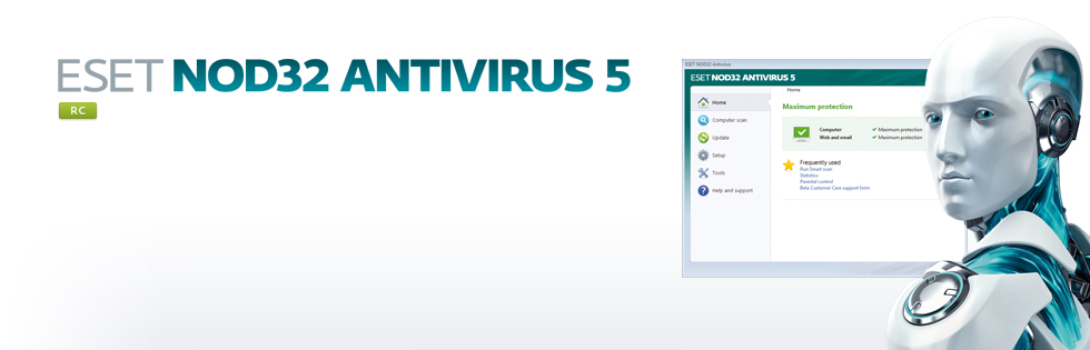NOD32 Antivirus 5 RC [2011] [+ Keys + TNod] [FLS]