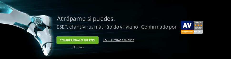 ESET, el antivirus m�s r�pido y liviano - AV Comparatives