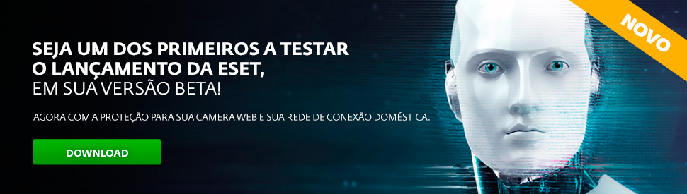 ESET Beta v10 Internet Security - Brasil