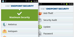Captura de pantalla de ESET Endpoint Security para Android