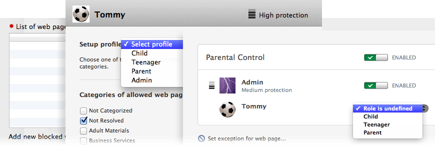 image: Control parental