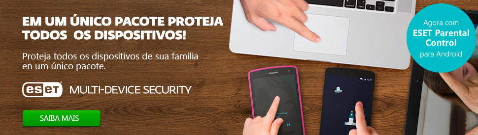 ESET Multi-Device Security com Control Parental para Android