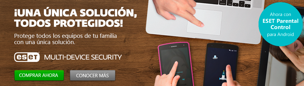 ESET Multi-Device Security con Control Parental para Android